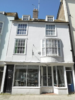 Leigh Gallery Shop Front