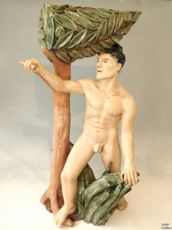 Keigh King - Male Nude Sculpture