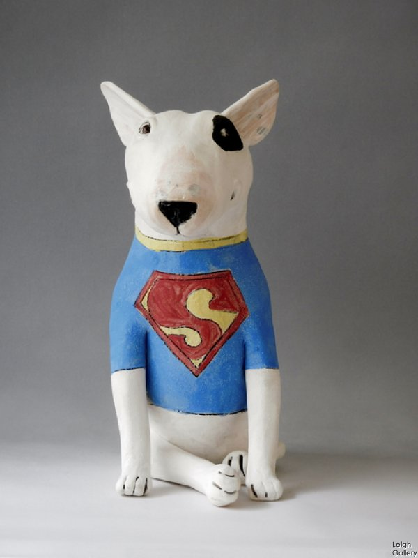 Marie Prett - Superman Dog