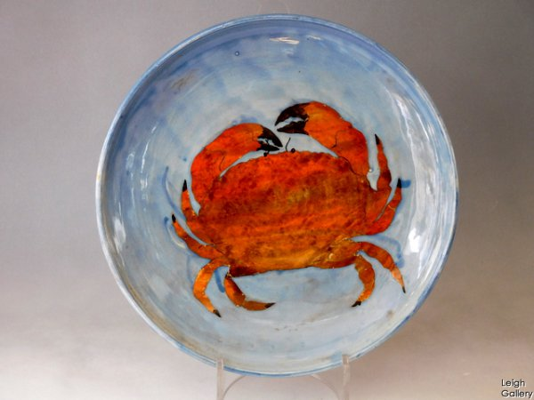 Sophie Maccarthy - Plate - Crab (smc2c)