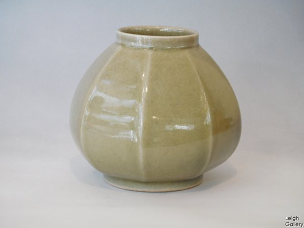 Alan Spencer Green - Faceted octagonal vase